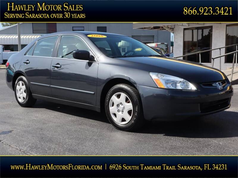 2005 Honda Accord for sale at Hawley Motor Sales in Sarasota FL