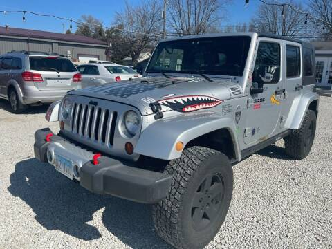 2009 Jeep Wrangler Unlimited for sale at Davidson Auto Deals in Syracuse IN