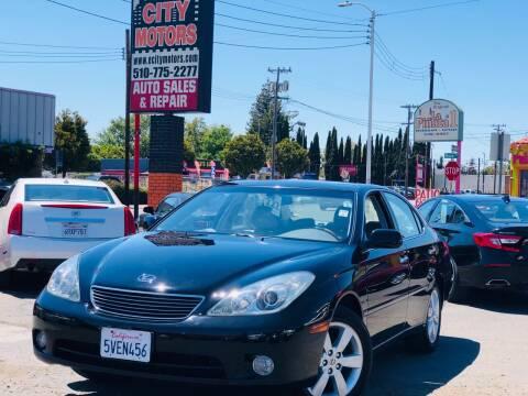 2005 Lexus ES 330 for sale at City Motors in Hayward CA