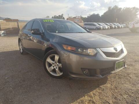 2009 Acura TSX for sale at Canyon View Auto Sales in Cedar City UT