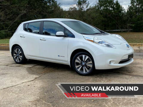 2013 Nissan LEAF for sale at Selective Imports in Woodstock GA