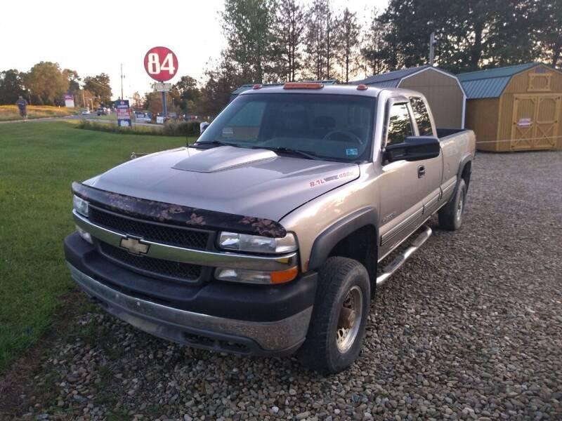 2001 Chevrolet Silverado 2500HD for sale at Seneca Motors, Inc. (Seneca PA) - SHIPPENVILLE, PA LOCATION in Shippenville PA