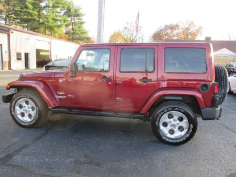 2013 Jeep Wrangler Unlimited for sale at Home Street Auto Sales in Mishawaka IN