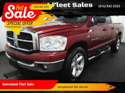 2007 Dodge Ram Pickup 1500 for sale at Government Fleet Sales in Kansas City MO