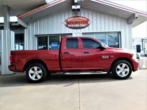 2014 RAM Ram Pickup 1500 for sale at Motorsports Unlimited in McAlester OK