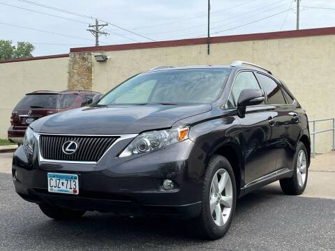 2010 Lexus RX 350 for sale at North Imports LLC in Burnsville MN