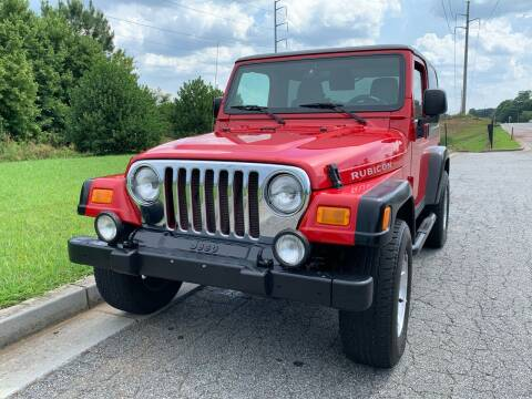 2003 Jeep Wrangler for sale at William D Auto Sales in Norcross GA