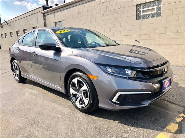 2019 Honda Civic for sale at Richardson Sales & Service in Highland IN
