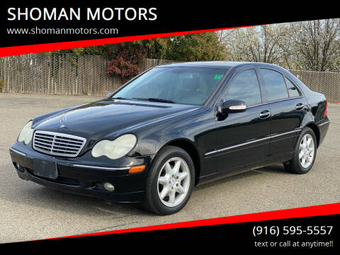 2004 Mercedes-Benz C-Class for sale at SHOMAN AUTO GROUP in Davis CA