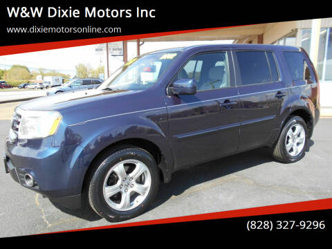2012 Honda Pilot for sale at W&W Dixie Motors Inc in Hickory NC