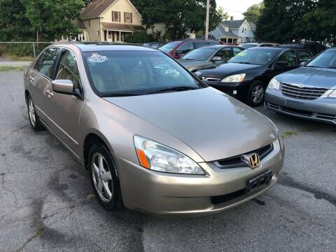 2003 Honda Accord for sale at Emory Street Auto Sales and Service in Attleboro MA