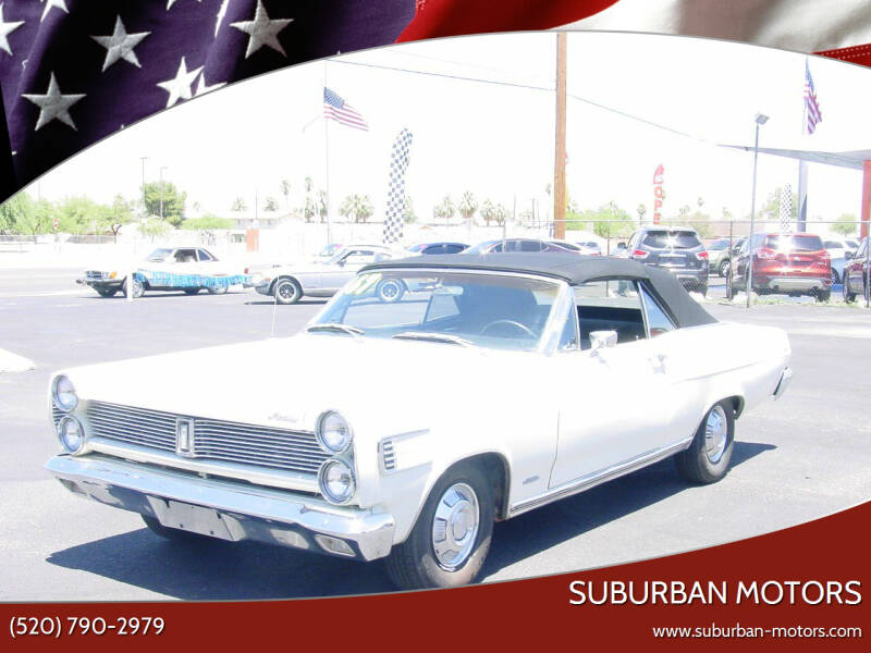 1967 Mercury CALIANTE for sale at Suburban Motors in Tucson AZ