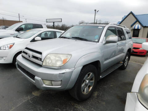 2004 Toyota 4Runner for sale at WOOD MOTOR COMPANY in Madison TN