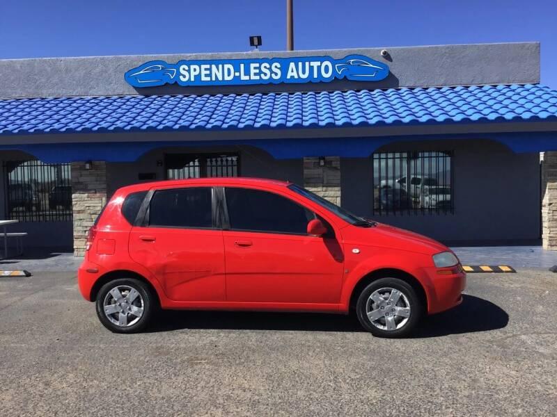 2008 Chevrolet Aveo for sale at SPEND-LESS AUTO in Kingman AZ