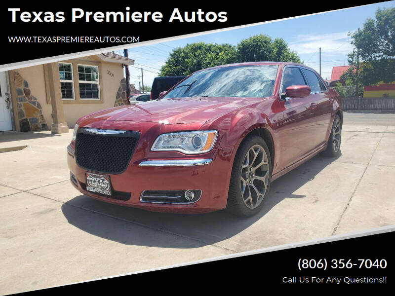 2014 Chrysler 300 for sale at Texas Premiere Autos in Amarillo TX