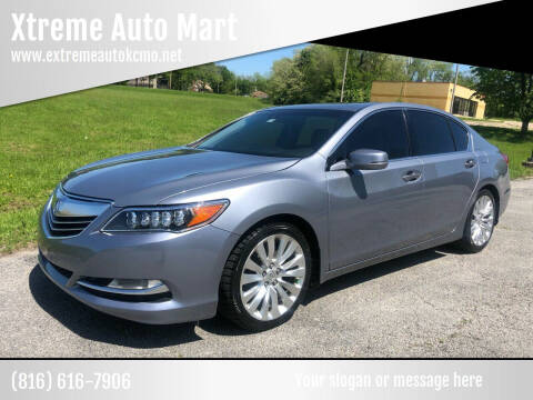 2014 Acura RLX for sale at Xtreme Auto Mart LLC in Kansas City MO