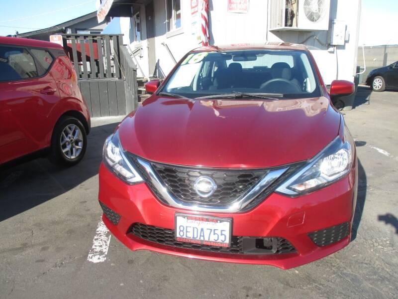 2018 Nissan Sentra for sale at Quick Auto Sales in Modesto CA