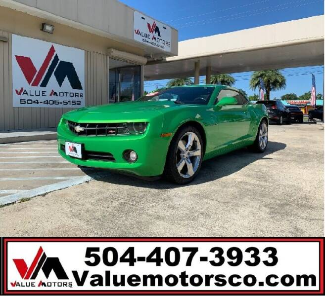 2011 Chevrolet Camaro for sale at Value Motors Company in Marrero LA