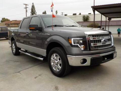 2013 Ford F-150 for sale at Bell's Auto Sales in Corona CA