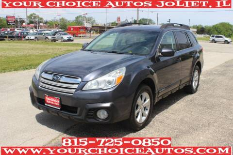 2013 Subaru Outback for sale at Your Choice Autos - Joliet in Joliet IL