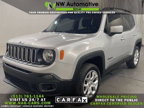 2017 Jeep Renegade for sale at NW Automotive Group in Cincinnati OH
