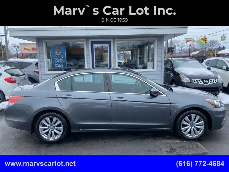 2012 Honda Accord for sale at Marv`s Car Lot Inc. in Zeeland MI