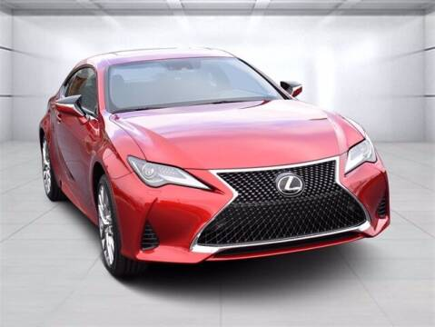 2021 Lexus RC 300 for sale at BOB ROHRMAN FORT WAYNE TOYOTA in Fort Wayne IN