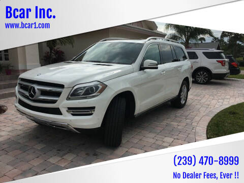 2014 Mercedes-Benz GL-Class for sale at Bcar Inc. in Fort Myers FL