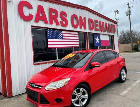 2014 Ford Focus for sale at Cars On Demand 3 in Pasadena TX