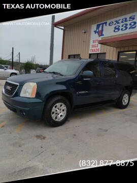 2007 GMC Yukon XL for sale at TEXAS AUTOMOBILE in Houston TX