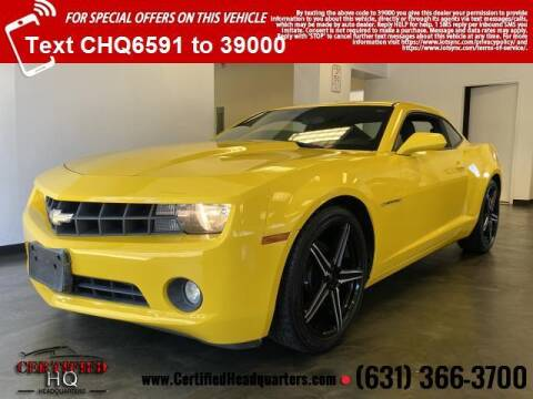 2011 Chevrolet Camaro for sale at CERTIFIED HEADQUARTERS in Saint James NY