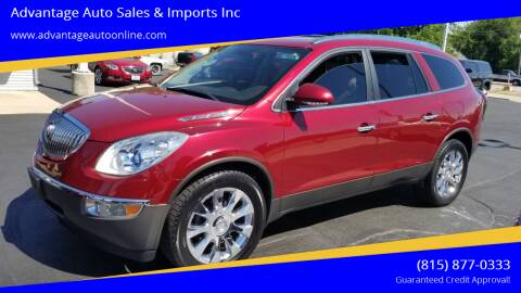 2011 Buick Enclave for sale at Advantage Auto Sales & Imports Inc in Loves Park IL