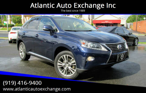 2014 Lexus RX 450h for sale at Atlantic Auto Exchange Inc in Durham NC