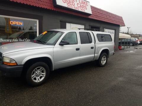 2004 Dodge Dakota for sale at Bonney Lake Used Cars in Puyallup WA