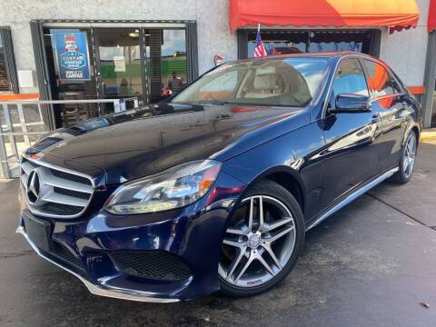 2014 Mercedes-Benz E-Class for sale at MATRIX AUTO SALES INC in Miami FL