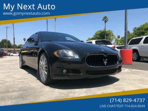 2011 Maserati Quattroporte for sale at My Next Auto in Anaheim CA