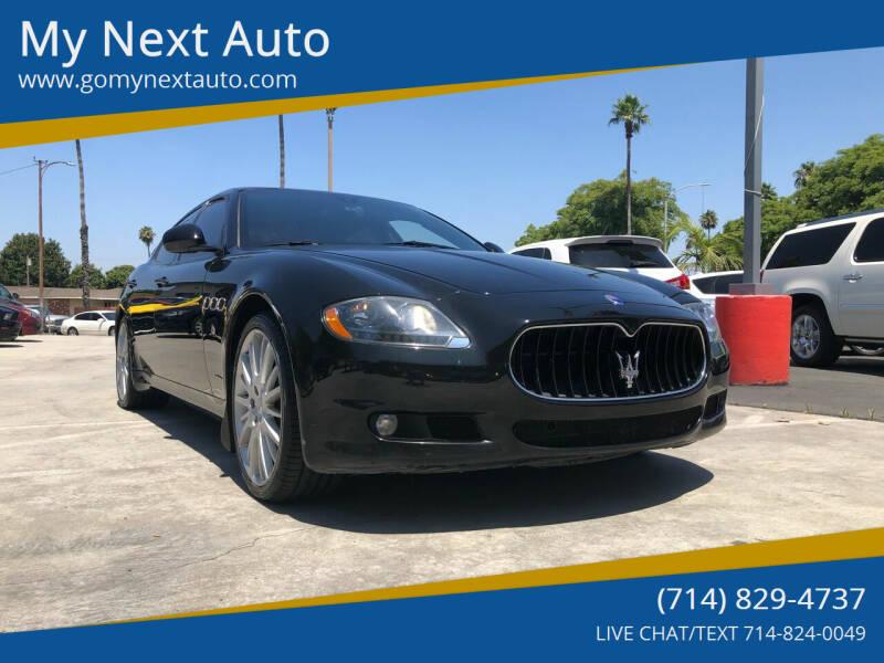 2011 Maserati Quattroporte for sale at My Next Auto in Anaheim CA