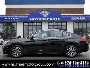 2018 Subaru Legacy for sale at Highline Group Motorsports in Lowell MA