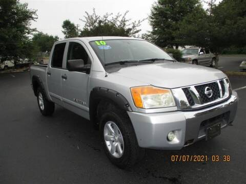 2010 Nissan Titan for sale at Euro Asian Cars in Knoxville TN
