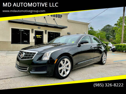 2013 Cadillac ATS for sale at MD AUTOMOTIVE LLC in Slidell LA
