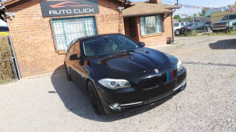 2011 BMW 5 Series for sale at Auto Click in Tucson AZ