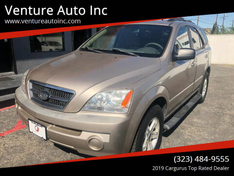 2005 Kia Sorento for sale at Venture Auto Inc in South Gate CA