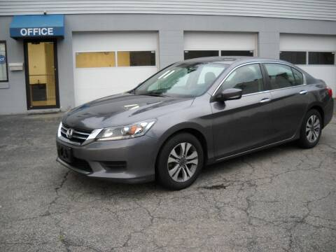 2015 Honda Accord for sale at Best Wheels Imports in Johnston RI