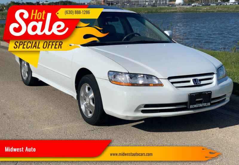 2002 Honda Accord for sale at Midwest Auto in Naperville IL