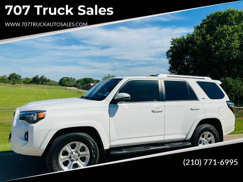 2018 Toyota 4Runner for sale at 707 Truck Sales in San Antonio TX