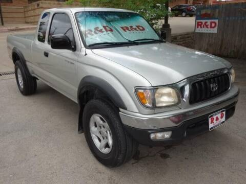 2002 Toyota Tacoma for sale at R & D Motors in Austin TX