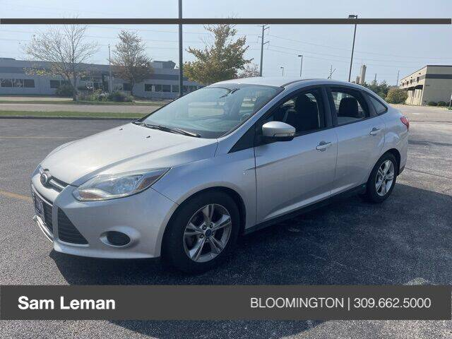 2014 Ford Focus for sale at Sam Leman Mazda in Bloomington IL