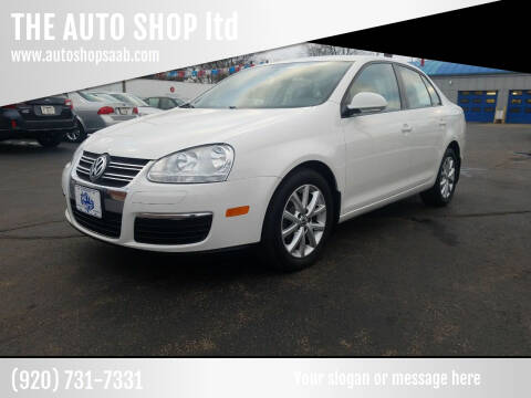 2010 Volkswagen Jetta for sale at THE AUTO SHOP ltd in Appleton WI