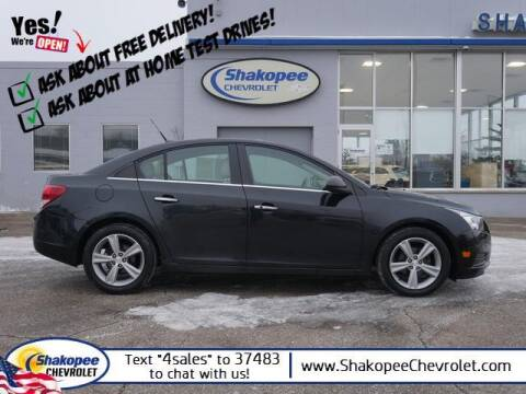 2012 Chevrolet Cruze for sale at SHAKOPEE CHEVROLET in Shakopee MN