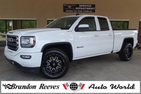 2018 GMC Sierra 1500 for sale at Brandon Reeves Auto World in Monroe NC